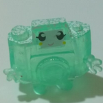 Moshi Monsters #045 Holga frostbite  green